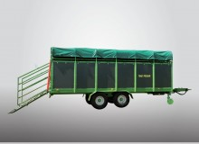 Trailers for transportation of cattle