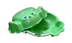 Песочница KHW Kunststoff Краб (зеленая)