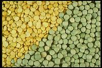 Горох колотый (зеленый и желтый)
