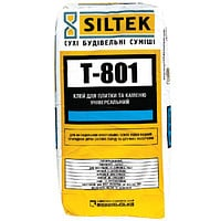 Glue for a tile and a stone universal Siltek T-801