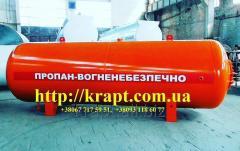 Резервуари для зріджених вуглеводневих газів (пропан - бутан)