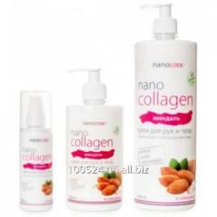 Hand cream and bodies Almonds of 500 ml