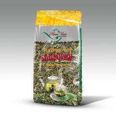 Чай зеленый листовой Бодрый с лимонником 80 гр.