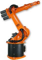 Восстановленные роботы KUKA. Монтаж. Ввод в