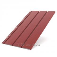 Панель софит Bryza красный 1,22 кв.м (4х0,31)