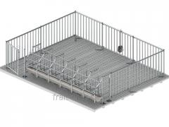 Metal cages for pregnant with / m aft bulkhead
