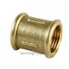 Couplings are brass