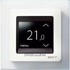 Temperature regulator with the touch display and