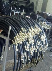 Рукав TM3 DN38 SEMPERIT М60х4,L  шланг с фитингами для слива газовоза для сжиженного газа СУГ LPG газовой цистерны полуприцепа-газовоза заправки АГЗС пропан-бутан