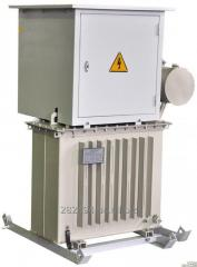 Substation transformer complete FOR HEATING of