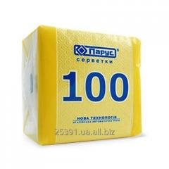 Tissues Sail 100, white Napkins are made only of