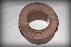 Tapes rubber LAT-2, EM-1, EM-K