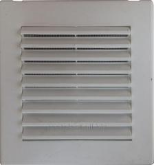 Решетка вентиляционная пластиковая 17х17см. с