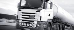 Transport transportations by tankers of bulk