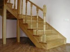Complete set of wooden ladders, description, price