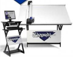 The machine for cutting of passe-partout of Wizard