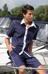 Clothes of the yachtsman for men