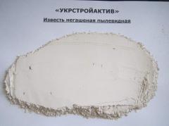 Lime hydrate-extinguished (pushonka)