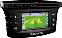 System of parallel driving Trimble AgGPS EZ-Guide
