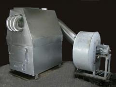 The heatgenerator is solid propellan