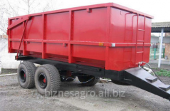 Semi-trailer tractor dumping PTS-10