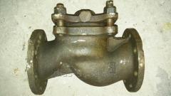 Клапан обратный фланцевый Ду- 80 Ру-25(чугун)