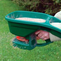 Spreader of fertilizers of manual HandyGreen II