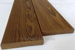 Thermoash-tree deck board