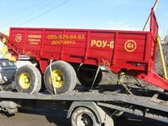 Spreaders of ROU-6 organic fertilizers