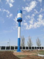 Water tower of Rozhnovsky VBR 15, V to 30 m3