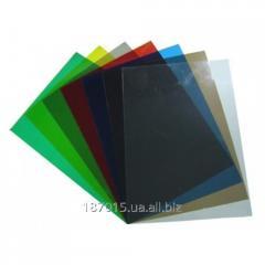 A3 cover transparent 180/200mk colourless unitary