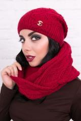 Cap knitted Carmen