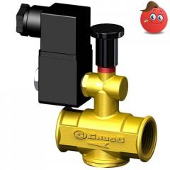 Electromagnetic valves for natural gas