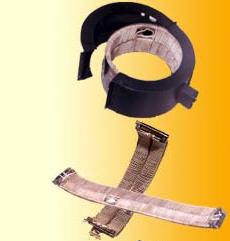 Ring, obrucheobrazny and flat heaters.