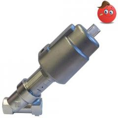 The valve with a pneumatic actuator of ODE