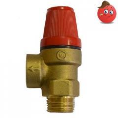 Safety valve Valvo brass VN of Du 15, 2.5 bar