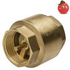 The valve the return sprung brass house-keeper Du