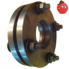Flange isolating steel Ru of 16 Du 100 without