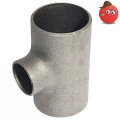 Tee steel seamless 139,7х6,3/89х5