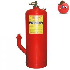 Module of automatic powder fire extinguishing CD
