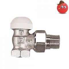 Thermostatic valve angular TS-90 HERZ of Du 20