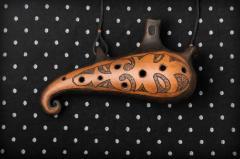 Окарина, духовой инструмент, ручная работа,