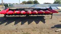 Harvester for cleaning of corn bu Geringof