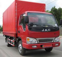 Лобовые стекла триплекс JAC (ДЖАК) 1020