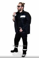 Костюм рабочий куртка брюки со светоотражающей лентой