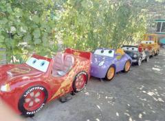 Escort. Children's attraction. Figures for