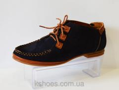 Blue shoes on a lace of Molly Bessa A01