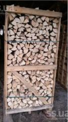 Firewood dry strong breeds, hornbeam