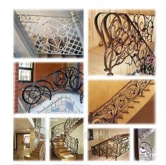 Лестницы кованые (Одесса), кованые перила для