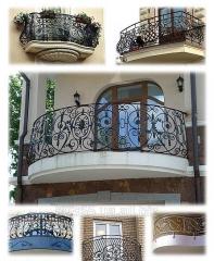 Кованые балконы (Одесса), кованые ограждения